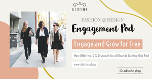 Instagram Engagement Pod for Fashion & Design Niche