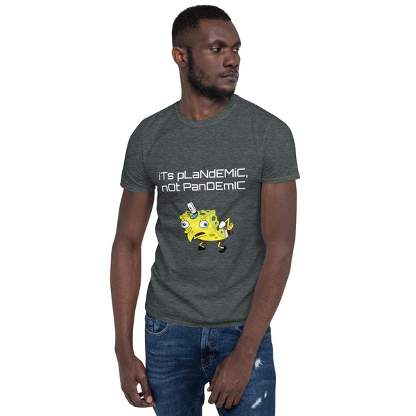 Mocking Spongebob Short-Sleeve Unisex T-Shirt