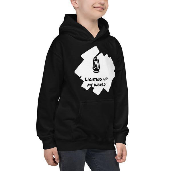 Lighting Up My World | Klothe Premium Kids Hoodie