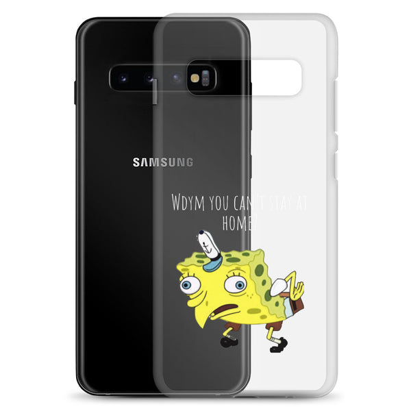 Stay At Home Spongebob Samsung Case