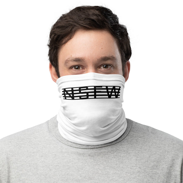 NSFW White Neck Gaiter