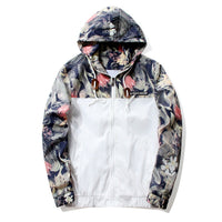 Floral Hooded Jacket