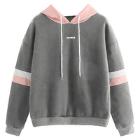 Casual Hooded Pullover Sweatshirt for Women