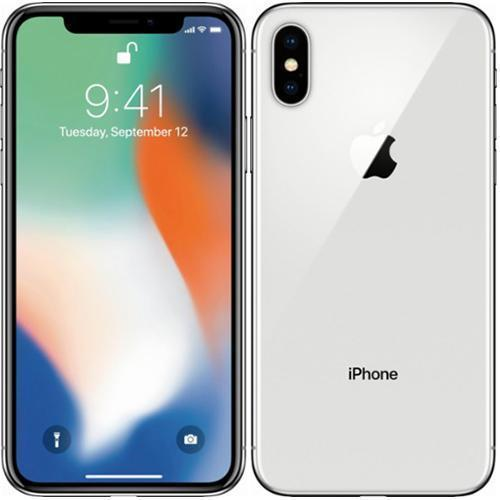 IPHONE X BLANCO PLATA