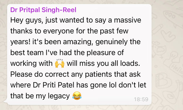 Message from Pritpal Reel