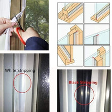 Load image into Gallery viewer, Weather Stripping Door Seal Strip