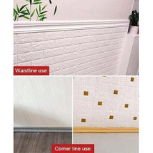 Load image into Gallery viewer, Self-adhesive Three-dimensional Wall Edging Strip (7.55 feet)