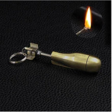 Load image into Gallery viewer, KEYCHAIN FLINT FIRE STARTER