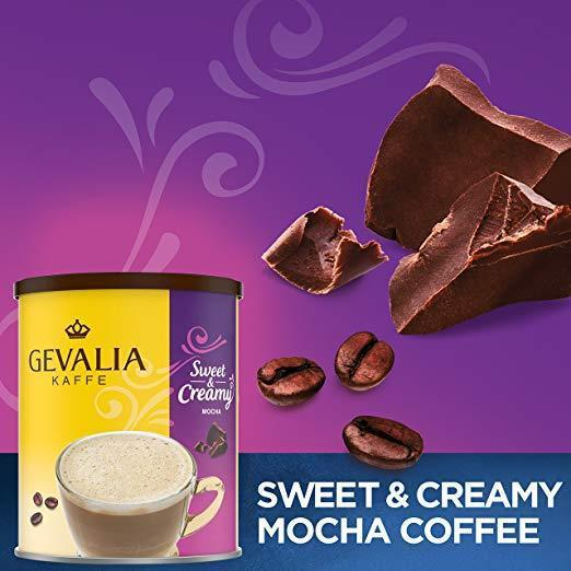 Gevalia Sweet & Creamy Coffee Mix, Mocha,