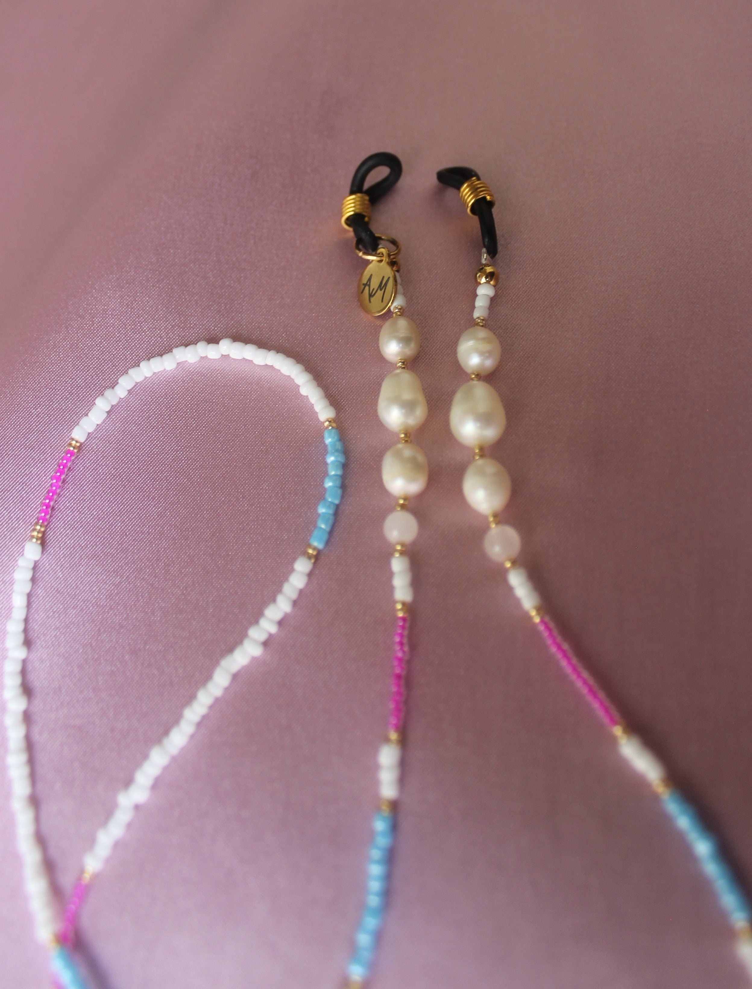 Sunny cords pink and baby blue