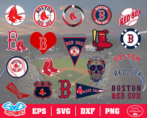 Boston Redsox Team Svg, Dxf, Eps, Png, Clipart, Silhouette and Cutfiles