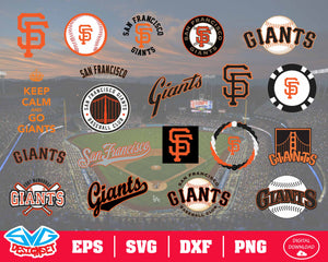 San Francisco Giants Team Svg, Dxf, Eps, Png, Clipart, Silhouette and Cutfiles