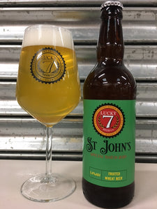 LUCKY 7 St John's Fruited Wheat Beer- 500ml Bottle