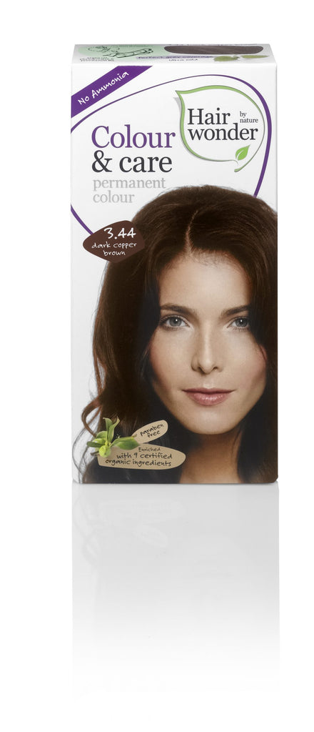 Hair Wonder Colour & Care Dark Copper Brown 3.44