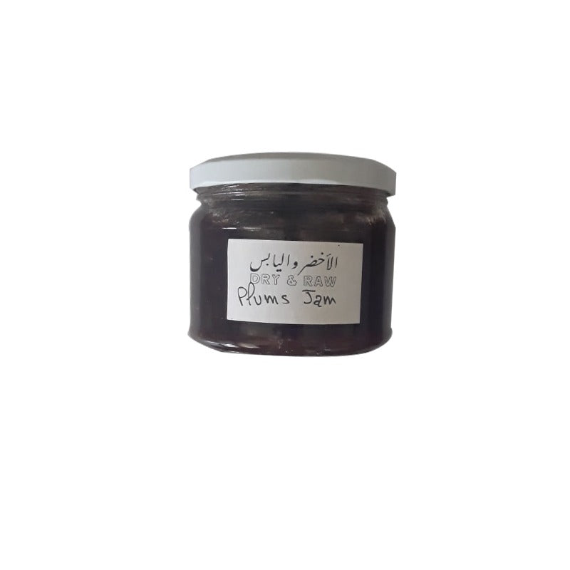 Plum Jam 375gr - Dry and Raw