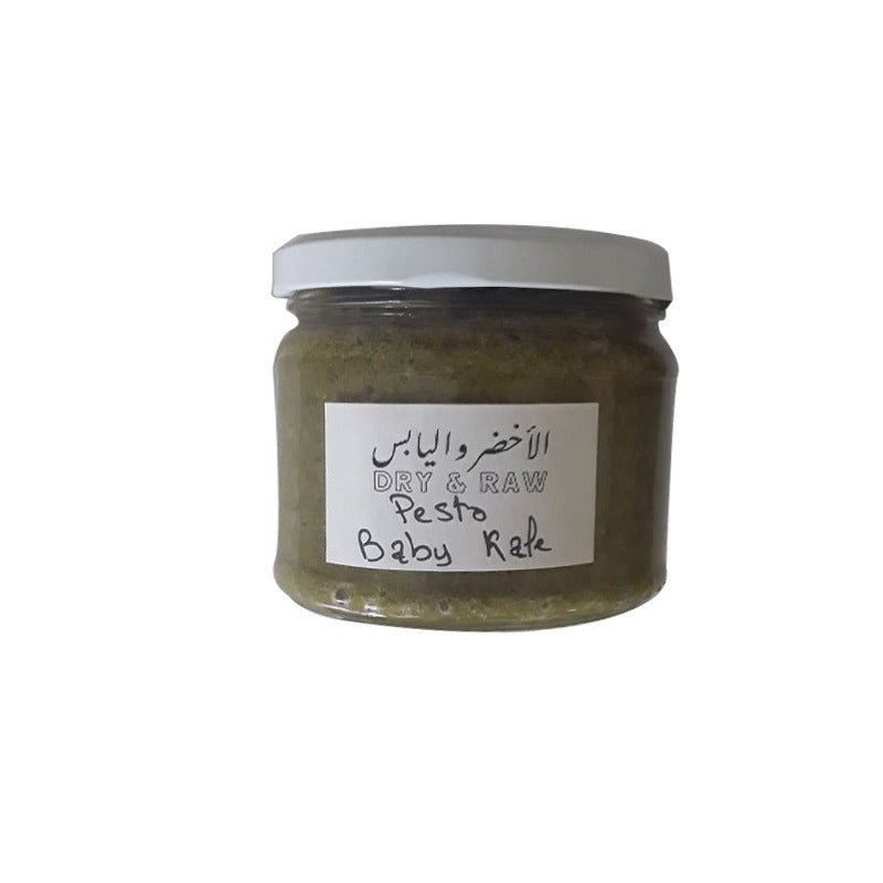 Pesto baby kale vegan 275gr - Dry and Raw