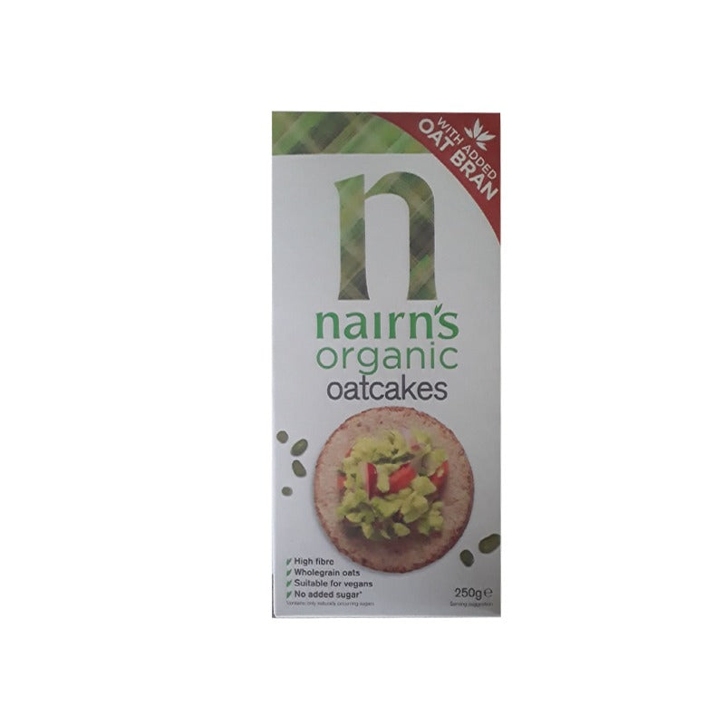 Nairn's Organic Super Seeded Oat Crackers 250g