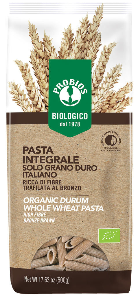Whole Wheat Penne Pasta- 500g