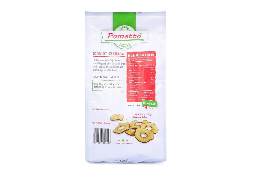 POMETTO Apple Chips - 50g