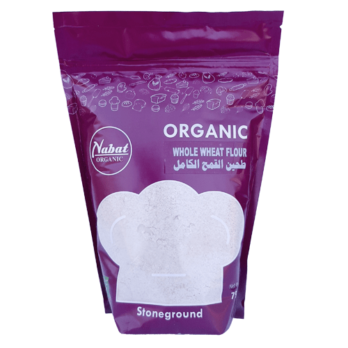 Organic Whole Wheat Flour - Nabat