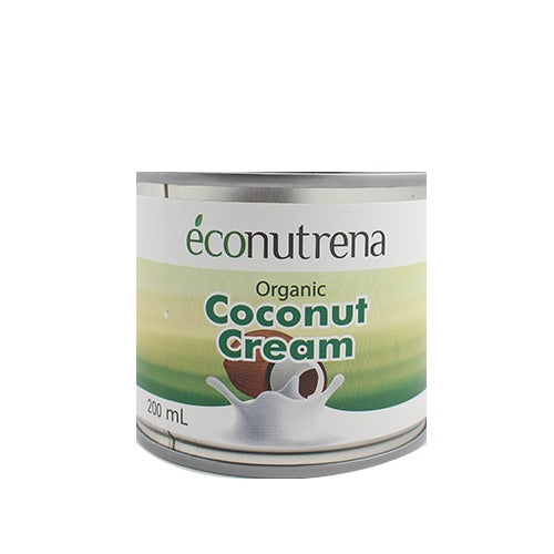 Eco Organic Coconut Cream 200ml