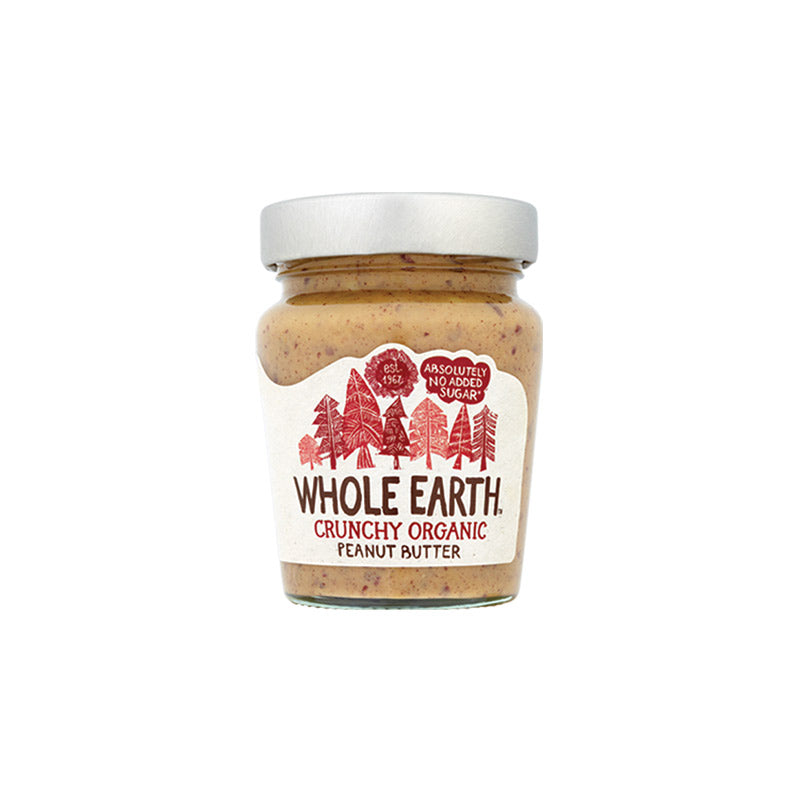 WHOLE EARTH ORGANIC PEANUT BUTTER CRUNCHY 340 GM