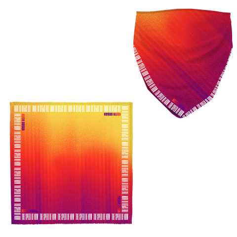 THE SPEED OF NOW PART 1 Tie Dye Bandana