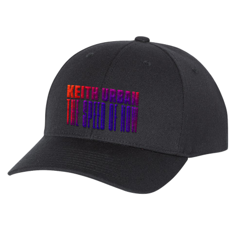 THE SPEED OF NOW PART 1 Black Baseball Cap