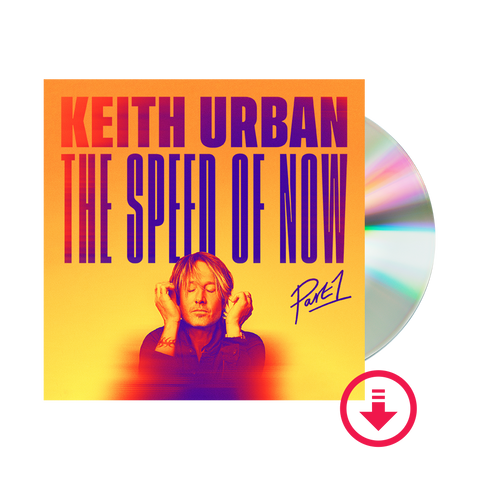 THE SPEED OF NOW PART 1 CD + Digital Album
