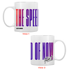 THE SPEED OF NOW PART 1 Logo Coffee Mug (White) + THE SPEED OF NOW Part 1 CD