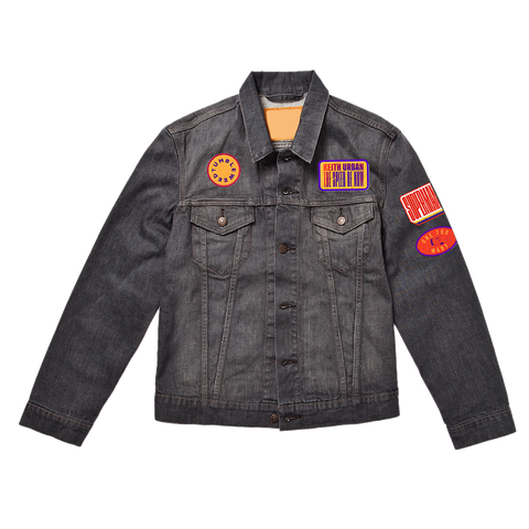 THE SPEED OF NOW Denim Patch Jacket
