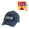 THE SPEED OF NOW Blue Logo Hat + THE SPEED OF NOW PART 1 CD