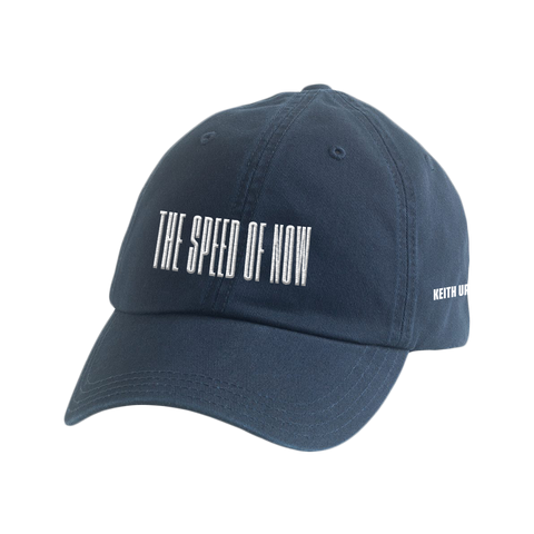 THE SPEED OF NOW Blue Logo Hat