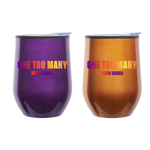 One Too Many Wine Tumbler Set