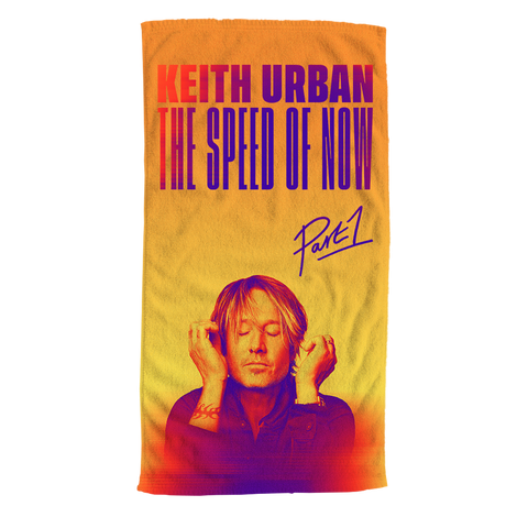 THE SPEED OF NOW Beach Towel