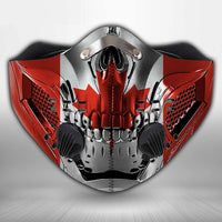 Canada flag CLOTH FACE MASK WASHABLE PRINTED 3D  - BBPL2307GV47