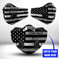 Correctional officer CLOTH FACE MASK WASHABLE PRINTED 3D  BBPL0607CR07