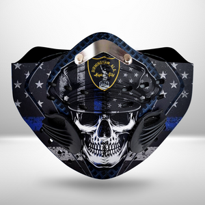 Birmingham Police Department(BPD)-CLOTH FACE MASK WASHABLE PRINTED 3D- TRLT0307GV2_Mads
