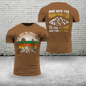 CAMPING COLLECTIONS T-SHIRT 3D PRINTED - TRHH0809GV27_Tads