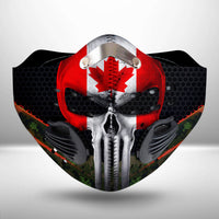 Canada flag CLOTH FACE MASK WASHABLE PRINTED 3D - BBPL2307GV45