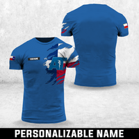 Custom Name Texas Athletic Trainer Tshirt 3D - MNLT2808GV7_Mads