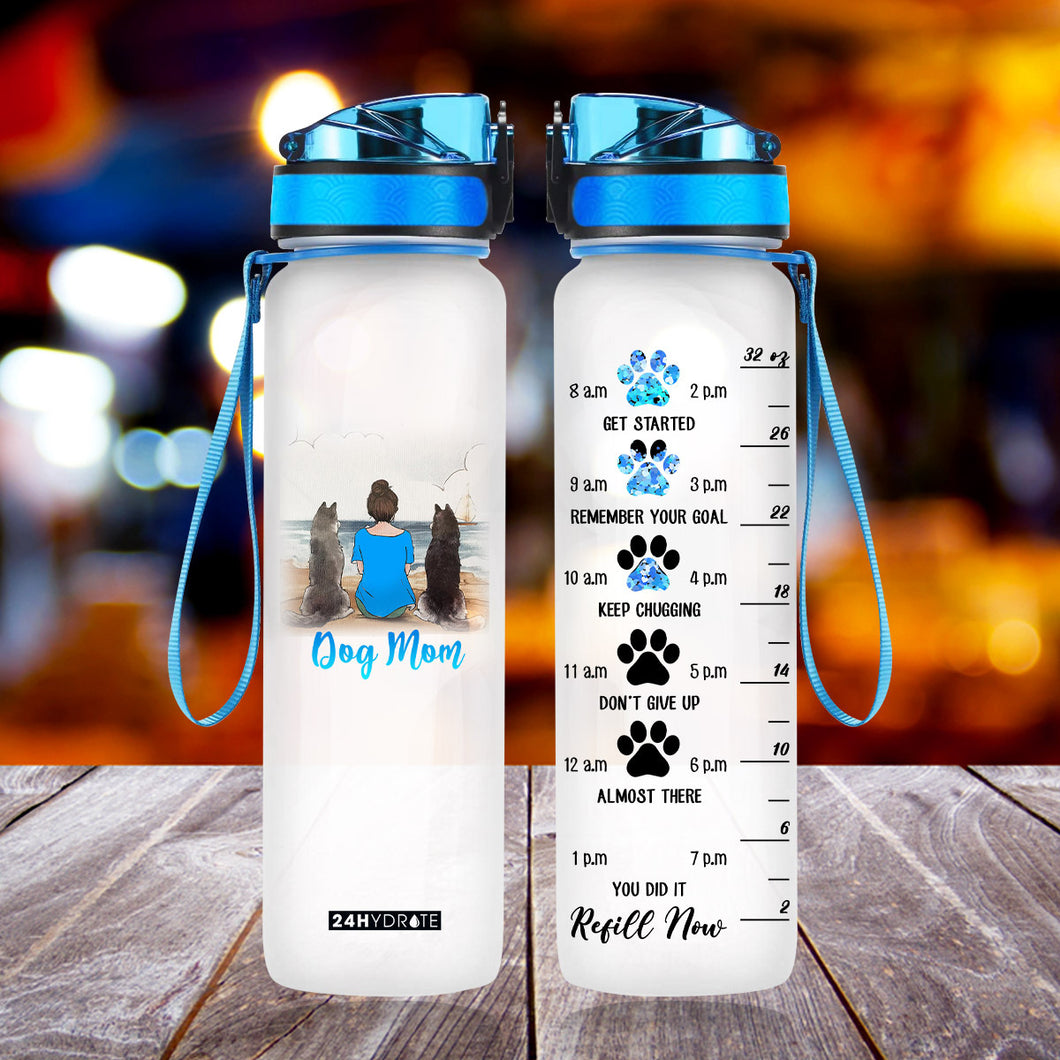 Dog Mom 32oz Bottle - NLLT1006GV12-Tads
