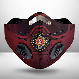 Fredericton Fire Department CLOTH FACE MASK WASHABLE PRINTED 3D - MNDU2207GV3_Mads