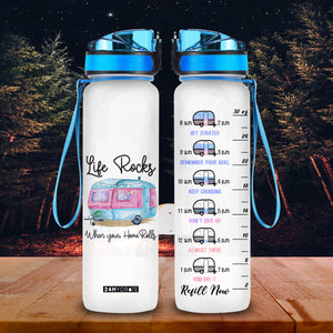 Life Rocks When Your Home Rolls Bottle-KODH1006GV11- Thads