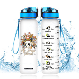 My Spirit Animal Water Tracker Bottle 32oz - MNPO2306GV2_Mads