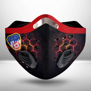 New York City Fire Department - FCLOTH FACE MASK WASHABLE PRINTED 3D - KODU2406GV4_Thads