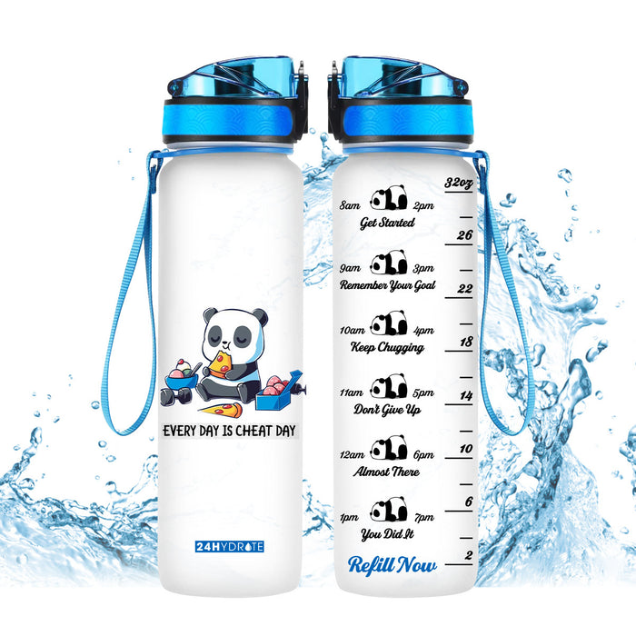 Panda Water Tracker Bottle 32oz - MNTF2306GV1_Mads