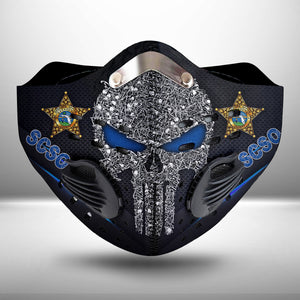 Sarasota County Sheriff's Office CLOTH FACE MASK WASHABLE PRINTED 3D  - KOLL2107GV28_Tads
