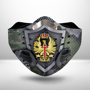 Spanish Army CLOTH FACE MASK WASHABLE PRINTED 3D - TT2306GV9_Dads
