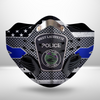 West Lafayette Police CLOTH FACE MASK WASHABLE PRINTED 3D - NTHH2307GV06_Dads